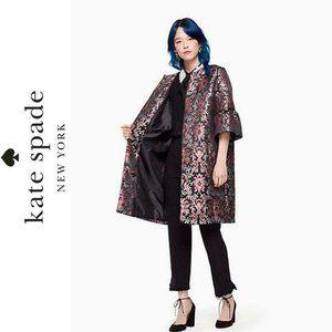 Kate Spade Tapestry Jacquard Coat MSRP $548